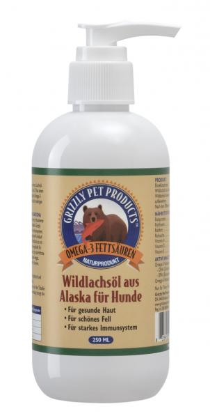 Grizzly Wildlachsöl