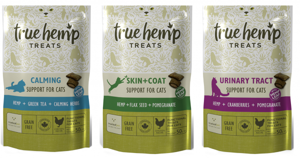 True Hemp Treats Katzenleckerlis 50gr.