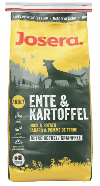 Josera Adult Ente & Kartoffel 15kg.