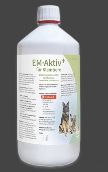EM-Aktiv+ Kleintiere 1L