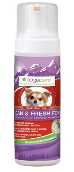 Bogacare Fell-Schaum Hund 150ml