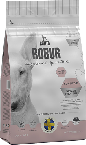 Robur Sensitive Lachs & Reis Single Protein