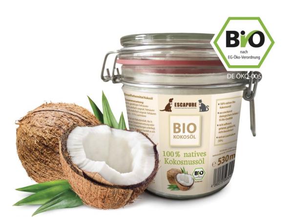 Kokosöl 100 % nativ kaltgepresst