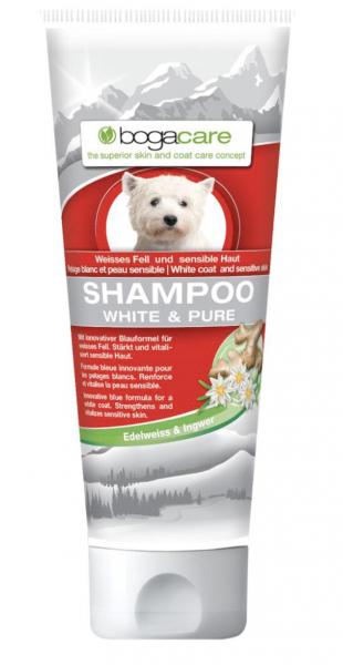 bogacare Shampoo White + Pure Hund 200 ml