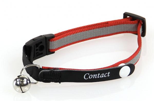 Halsband mit Kontaktinformation