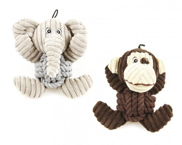 Knotis Affe und Elefant