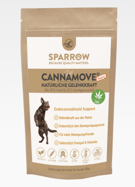 Sparrow Pet Canna Move Forte 100g