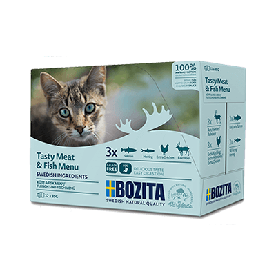 Bozita Feline Multibox Häppchen in Sosse