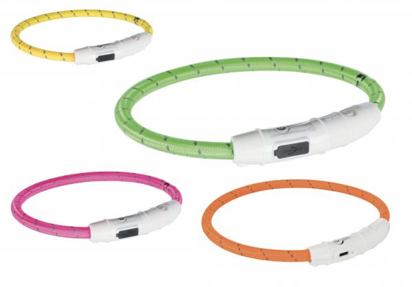 Leuchthalsband USB