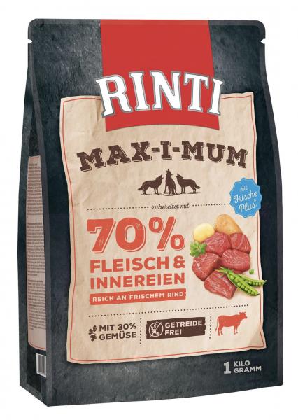 Hundefutter Rinti Max-i-Mum Rind