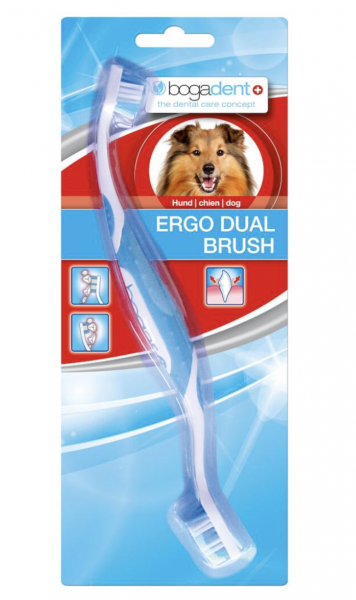 bogadent Ergo Dual Brush Zahnbürste