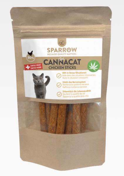 Sparrow Canna Cat Chicken Sticks 50g
