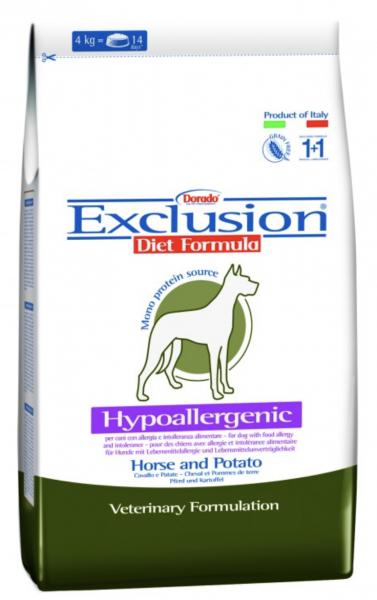 Exclusion Diet Pferd & Kartoffel