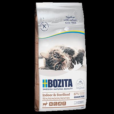 Bozita Indoor & Sterilised getreidefrei Rentier