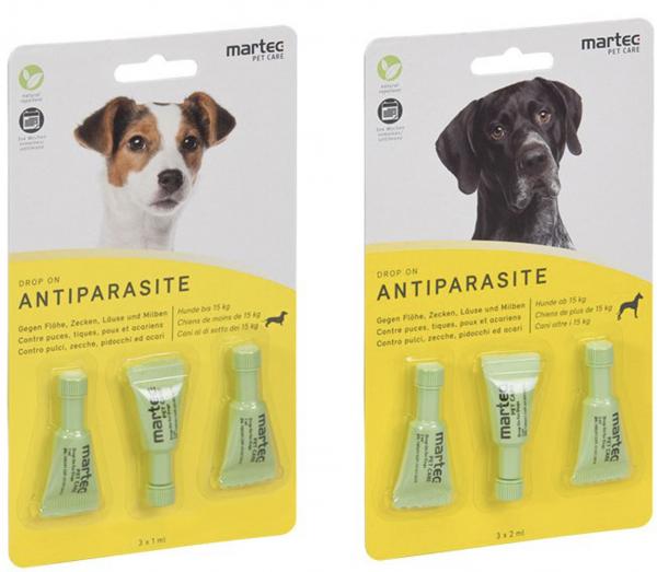 Drop-On Antiparasit Hunde