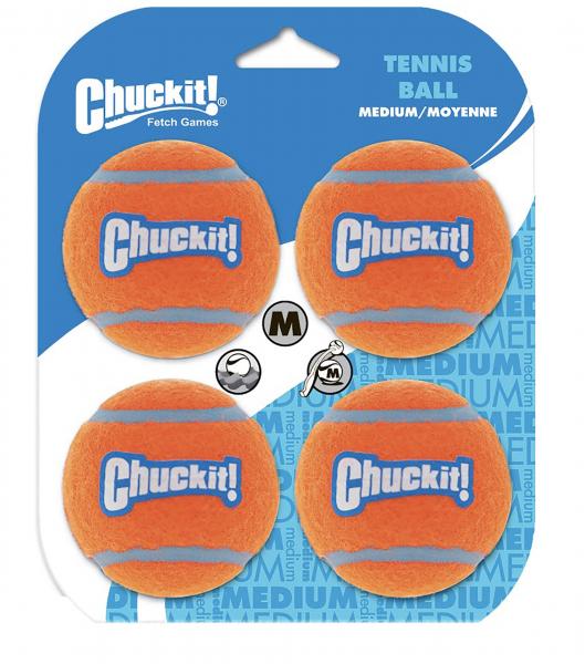 Tennisbälle 4er Set Chuckit