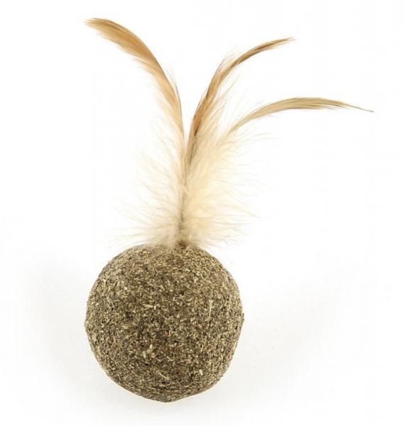 Catnip Ball mit Feder 1Stk.