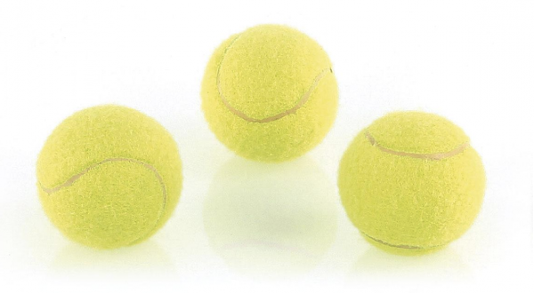 Mini Tennisbälle ø4cm, 3Stk.