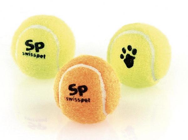 Tennisbälle mit Quietsch 3Stk.